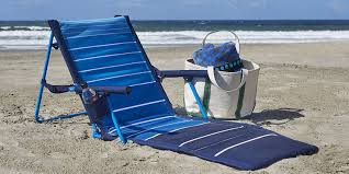 Coleman Oversized Padded Quad Chair Side Cooler by Top 10 Best Beach Chairs In 2017 Hqreview
