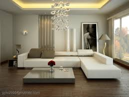 Contemporary White Living Room At Spacious Modern Design Ideas