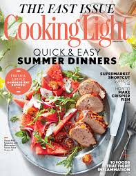 August 2017 Magazine Features Cooking Light