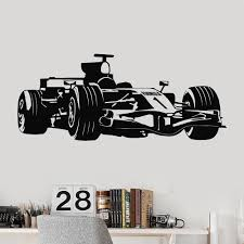bp racing wall sticker lounge bedroom garage workshop