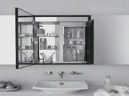 Illuminated Bathroom Mirror Cabinets Ikea by Bathroom Cabinets Large Bathroom Mirror With Storage Sliding