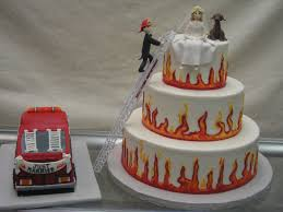 Firetruck Weddings | ... Wedding Cake 2 Damask Wedding Cake Fall ... Photo Gallery Dixie Cfexions Wedding Cake With Truck Sling Mud From Icimagesco The Hunt Is Over Cakes Monster Shop Cupcakes Bakery Flavors 268 Patty Highland Il Muddy Cakecentralcom Twotier Buttercream With Pink Flowers And Wire Topper Thats A Redneck Bright Ideas