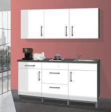 menke single küche küchenzeile küchenblock 180 cm graphit