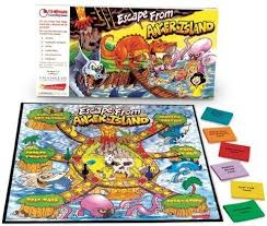 Franklin Learning SN02807CQ Escape From Anger Island Board Game