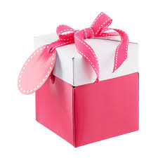 Pink PopUp Gift Boxes