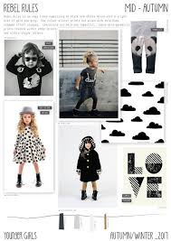 Rebel Rules Is An Edgy Younger Girls Trend For Autumn Winter It Has A Simple Colour Palette Of Mainly Black And White Mixed Wit