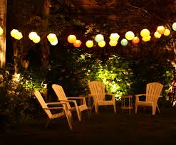 hanging patio string lights a pattern of perfection yard envy with