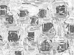 tapeten silber grau schwarz weiß stylisch mowade