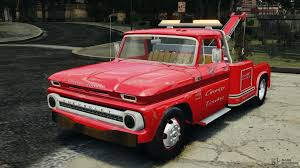 100 Gta 4 Tow Truck Chevrolet C20 Truck 1966 For GTA