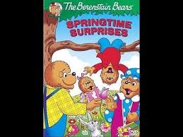 The Berenstain Bears Christmas Tree Dvd by Opening To The Berenstain Bears Springtime Surprises 2009 Dvd
