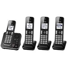 Panasonic 4-Handset DECT Cordless Phone With Answering Machine ... Ooma Telo Smart Home Phone Service Internet Phones Voip Best List Manufacturers Of Voip Buy Get Discount On Vtech 1handset Dect 60 Cordless Cs6411 Blk Systems For Small Business Siemens Gigaset C530a Digital Ligo For 2017 Grandstream Vs Cisco Polycom Ring Security Kit With Hd Video Doorbell 2 Wire Free Trolls Bilingual With Comic Only At Bluray Essential Drops To 450 During Sale Phonedog Corded Telephones Communications Canada Insignia Usbc Hdmi Adapter Adapters 3cx Kiwi