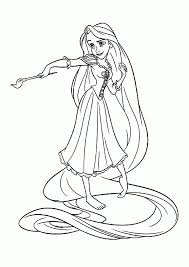 Free Coloring Pages Of Rapunzel Disney New At Printable Tangled For Kids