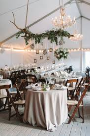 Decorating Country Vintage Wedding Table With Old Door Backdrop