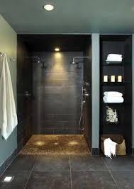 25 open shower ideas