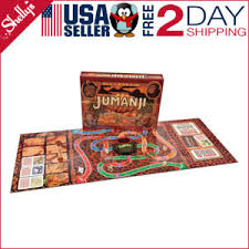 Jumanji Action Original Game Board Family Gift Toy Cardinal Wood Travel Size NEW