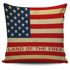 American Flag Pillow Covers 4 Designs