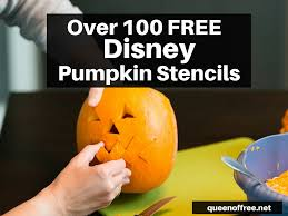 Halloween Stencils For Pumpkins Minnie Mouse by Over 100 Free Disney Pumpkin Stencils Queen Of Free