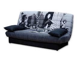 canapé york canapé lit york 2 personnes tissu gris weba meubles
