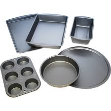 Play Kitchen Sets Walmart by Bakereze 6 Piece Non Stick Bakeware Set Walmart Com