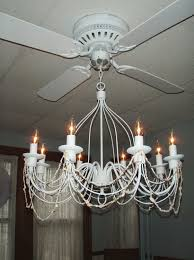 Modern Dining Room Chandelier Ceiling Fan