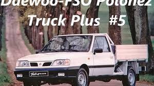 Daewoo-FSO Polonez Truck Plus - YouTube