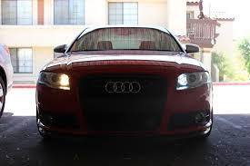 b7 audi a4 s4 and rs4 led daytime running lights drl nick s