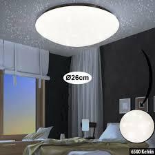 büromöbel led decken leuchte sternen himmel effekt