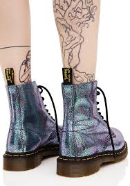 dr martens sparkle pascal 8 eye boots dolls kill