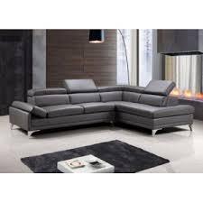 canapé gris taupe envie de meubles canapé d angle cuir gris taupe aero position