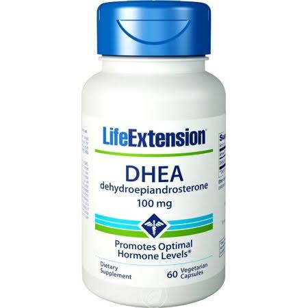 Life Extension Dhea Dietary Supplement - 60 Capsules
