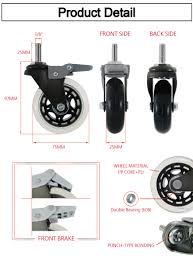 CCE Caster 3 Inch Replacement Casters Wheel For Office Chairs, View ... 5pcs 40kgscrewuniversal Mute Wheel 2 Replacement Office Chair Naierdi 5pcs Caster Wheels 3 Inch Swivel Rubber Best Casters For Chairs Heavy Duty Safe For Use Probably Perfect Of The Glider Youtube Universal Office Chairs Nylon 5 Set Agptek With Screwdriver Roller Lounge Cheap Rolling Modern No 2pcs Replacing Part Twin Rotate Amazoncom Rolland Oem Stem Uxcell Black Fixed Type