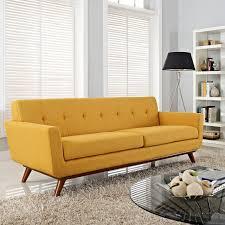 Danish Modern Sofa Sleeper by Spiers Sofa In Mustard Decor Pinterest Mustard House And