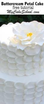 Elegant Buttercream Petal Cake Tutorial