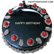 Here is a virtual Chocolate cake with name to wish happy birthday to your family and friends Write the name on this scrumptious chocolate birthday cake