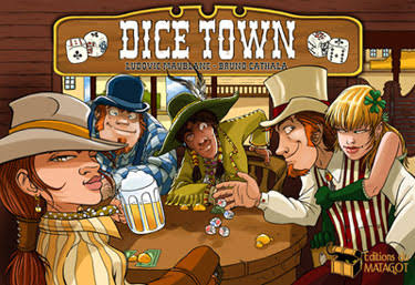 Asmodee Games Dice Town Board Game