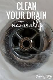 Unclogging A Bathtub Drain With Vinegar by How To Unclog A Drain With Baking Soda And Vinegar Crunchy Betty