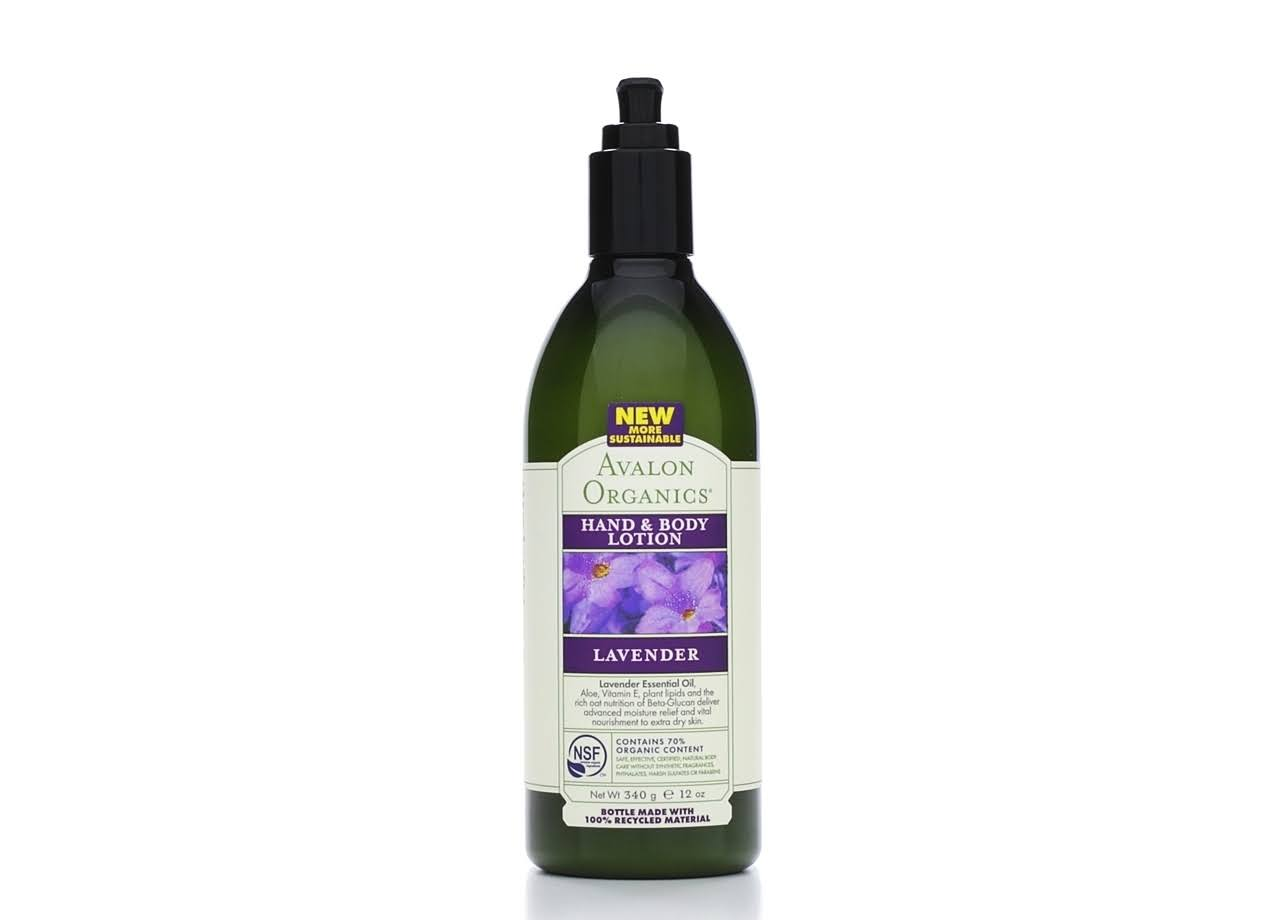 Avalon Organics Hand & Body Lotion - Lavender