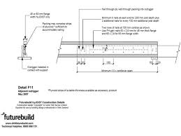 Ceiling Joist Span Table Nz by Hyjoist Nz Chh Woodproducts Nz