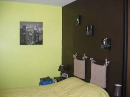 association couleur peinture chambre peinture chambre vert et marron meilleur idées de conception de