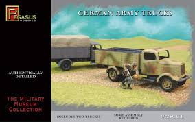 100 German Trucks Amazoncom Army 2 Snap Kit 172 Pegasus Toys Games