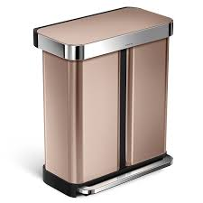 Under Cabinet Trash Can With Lid by Shop Amazon Com In Home Recycling Bins