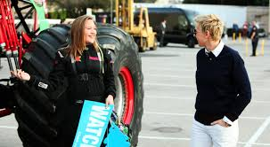 Watsonville Girl Who Drives Monster Trucks Appears On Ellen