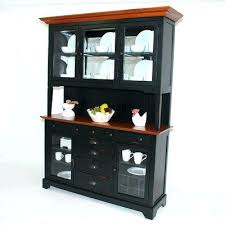 Dining Room Hutches Buffets Black China Cabinet Hutch Buffet Gs Furniture Riverside A