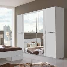 wimex kleiderschrank schlafzimmerschrank schrank spiegel 5 türig weiß 225cm
