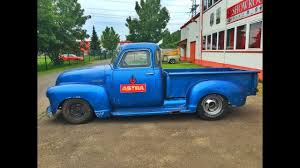100 1947 Chevy Truck 3100PickupV8350StepsideV8Sound YouTube