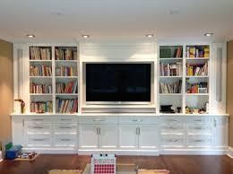 Full Wall Entertainment Bookshelf Studio Marchand