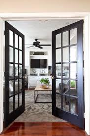 French Door Decorating Ideas New Top Notch Black Doors The Best