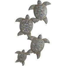 Turtle Parade Wall Decor