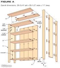 furniture wooden traditional bookshelf ideas featuring