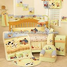 Yellow Sheep Cotton Baby Crib Bedding Set Buy Baby Crib Bedding
